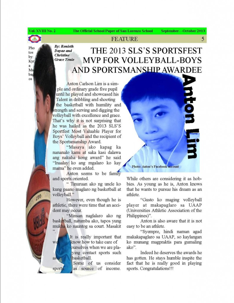 2013-2014. Issue 2, Page 5