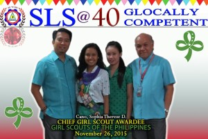 2015 Chief Girl Scout of the Philippines