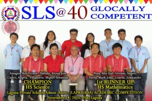 2015 LAPRISADA High School Academic Competition