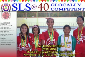 DepEd Provincial Swimming