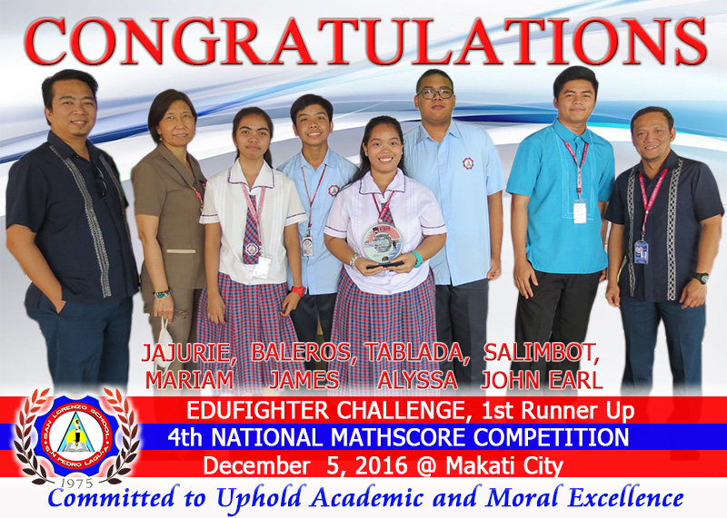 MathScore National Competition 2016